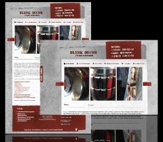 Дизайн и верстка сайта компании Блескдекор www.bleskdecor.ru